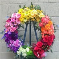 Rainbow_Wreath_Funeral
