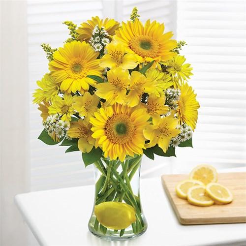 Orlando local florist flowers fruit plants gifts same day 1 800 flowers make lemonade in a vase mightylinksfo