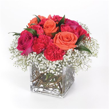 Rich 'n Rosy flower bouquet (BF16-11K)